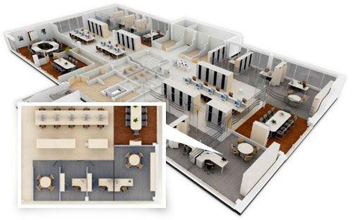 Office space planning space planning pinterest offices spaces and office spaces - Designing a small office space plan ...