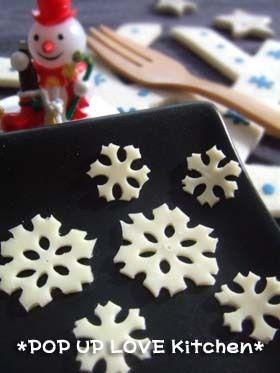 """Snowy crystal"" cheese"