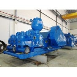 National Oilwell 12-P-160 Triplex Mud Pump