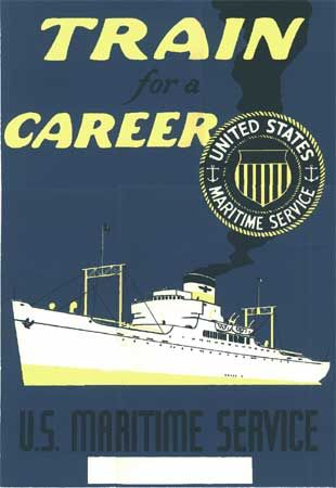Merchant Marine WWII: Posters Training, Picture-Black Posters, War Posters, Wwii Posters, Merchant Marines, Aunt, Marines Wwii, American Posters