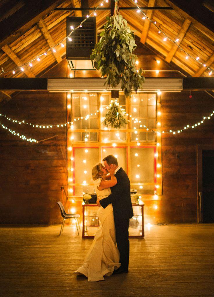 First dance under the lights.