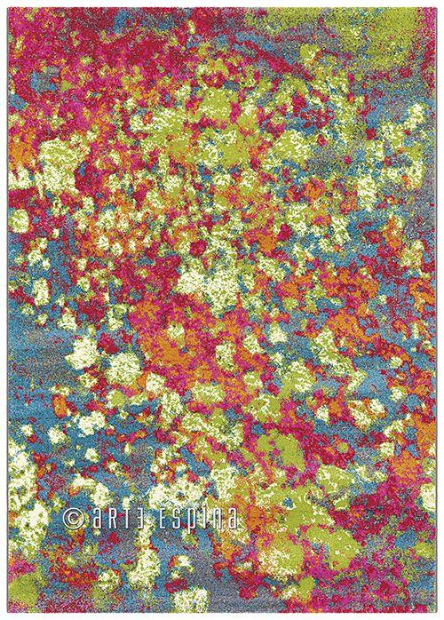 A carpet like a rainbow