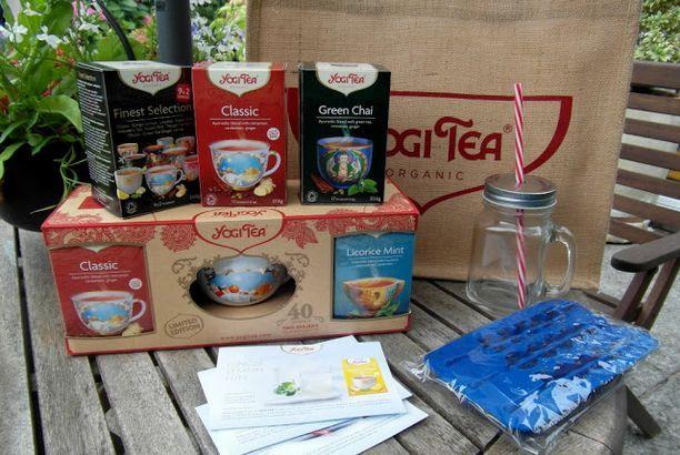 A Spicy Summer Tea Hamper with Yogi Tea + GIVEAWAY!