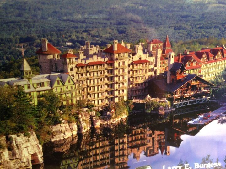 Mohonk Mountain House in New Paltz, NY