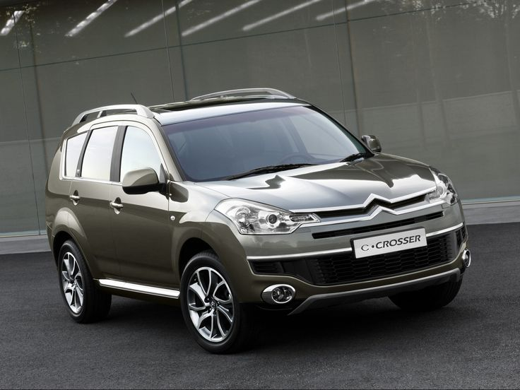The Citroën C-Crosser is the French Firm's first Off-Roader and it's Certainly A Good one https://www.enginetrust.co.uk/series/citroen/c-crosser/engines