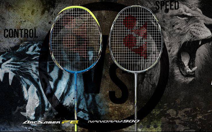 YONEX Arcsaber FB and YONEX Nanoray 900 Comment your Favorite One  Checkout the Full Range of YONEX Arcsaber and YONEX Nanoray Series http://www.khelmart.com/Badminton/Badminton-Rackets.aspx