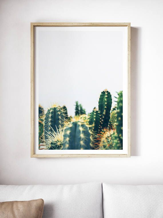 Printable Green Cacti Art | Green Art | Cactus Art | Green Print | Cacti Print | Succulent | Plant Art | Wall Art | Plants | Photograph  PLEASE NOTE:  This listing is an INSTANT DIGITAL DOWNLOAD SET OF THESE TWO PRINTS. No physical artwork will be sent. Once purchased, you will
