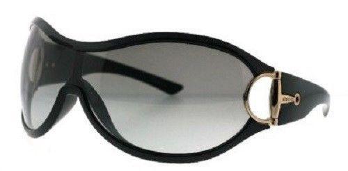 NEW GUCCI GG 2561 D28 BLACK SUNGLASSES  VINTAGE SUNGLASSES WITH TAGS BLK SILVER #Gucci