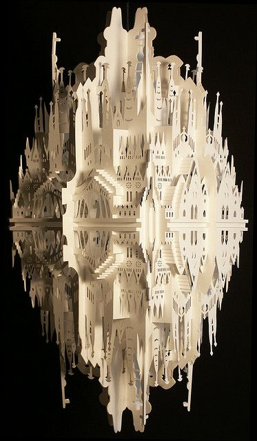 """Reflection on Sagrada Familia""  by Ingrid Siliakus"