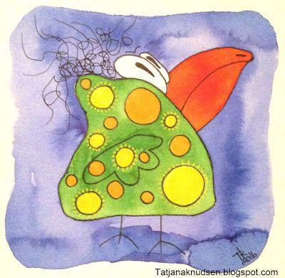 Dotbird made by Tatjana Knudsen :D.