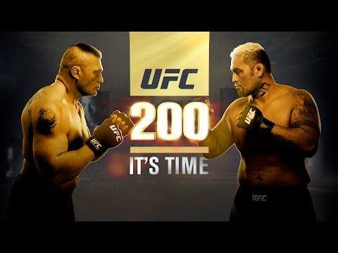 UFC (Ultimate Fighting Championship): UFC 200: It's Time - Lesnar vs Hunt
