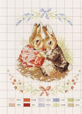 Милые сердцу штучки: рукоделие, декор и многое другое: Le monde de Beatrix Potter от Veronique Enginger (схемы)