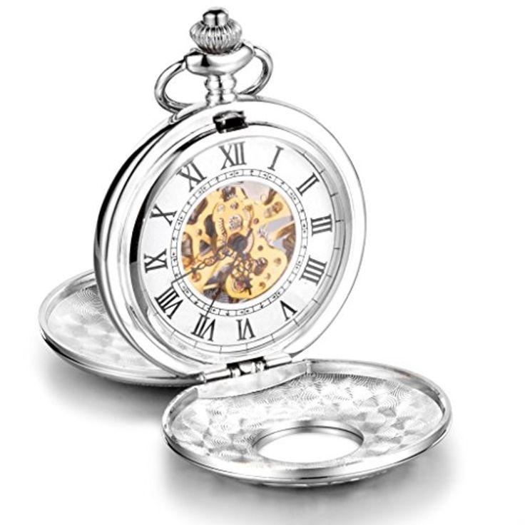 Infinite U Haut de Gamme Squelette Chiffres Romains Blanc Grand Double Couvercles Montre de Poche Mécanique 2017 #2017, #Montresdepocheetgoussets http://montre-luxe-homme.fr/infinite-u-haut-de-gamme-squelette-chiffres-romains-blanc-grand-double-couvercles-montre-de-poche-mecanique-2017/
