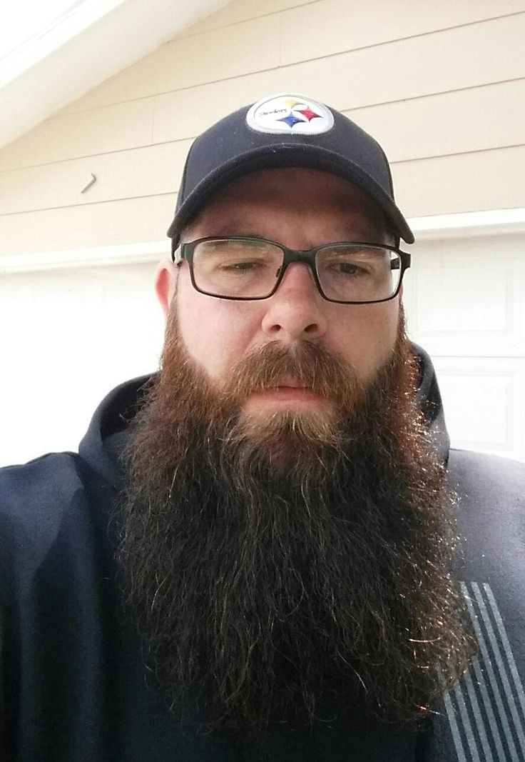 Danny Lietz of the East Grand Forks project enters the Beard Contest