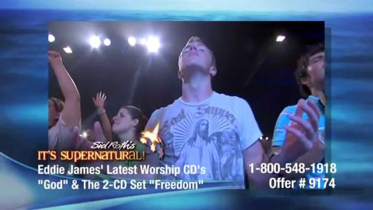 Heavenly Worship and Angel - Eddie James with Sid Roth's It's Supernatural! - YouTube