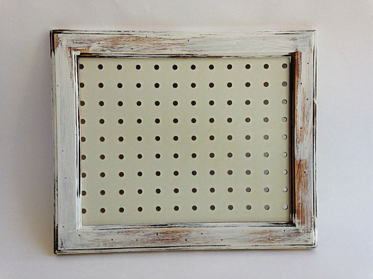 Peg Board with Hooks