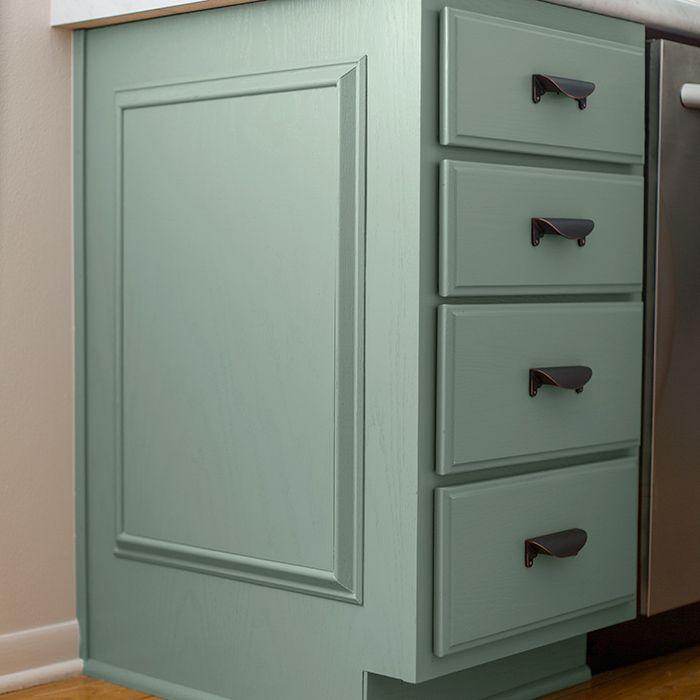 Kitchen Cabinet Faux Panels | Faux panels, Kitchen ...