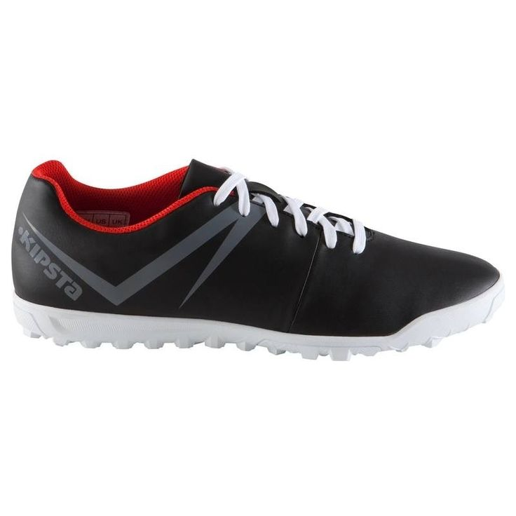 Check out our New Product  Agility 100 HG adult hard ground football boots in black red white Accessories Made for playing 11, 7 or 5-a-side football on gravel/sand-based or artificial grass pitches once or twice a week.These football trainers are perfect for starting to play football on hard pitches.Natural rubber sole gives you great footing.  ₹1,099