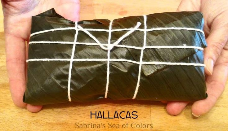 Hallacas tradicionales venezolanas | Cocina