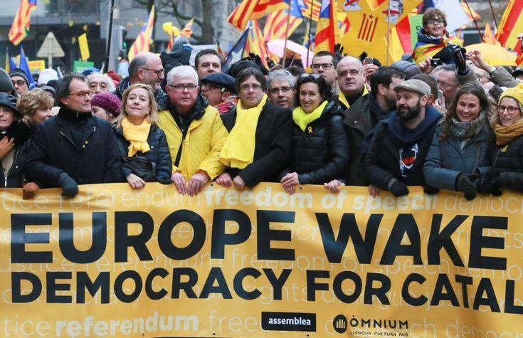 """La Comisión Europea a los independentistas: """"Vivimos en tiempos que reclaman unidad y estabilidad no división y fragmentación"""""""