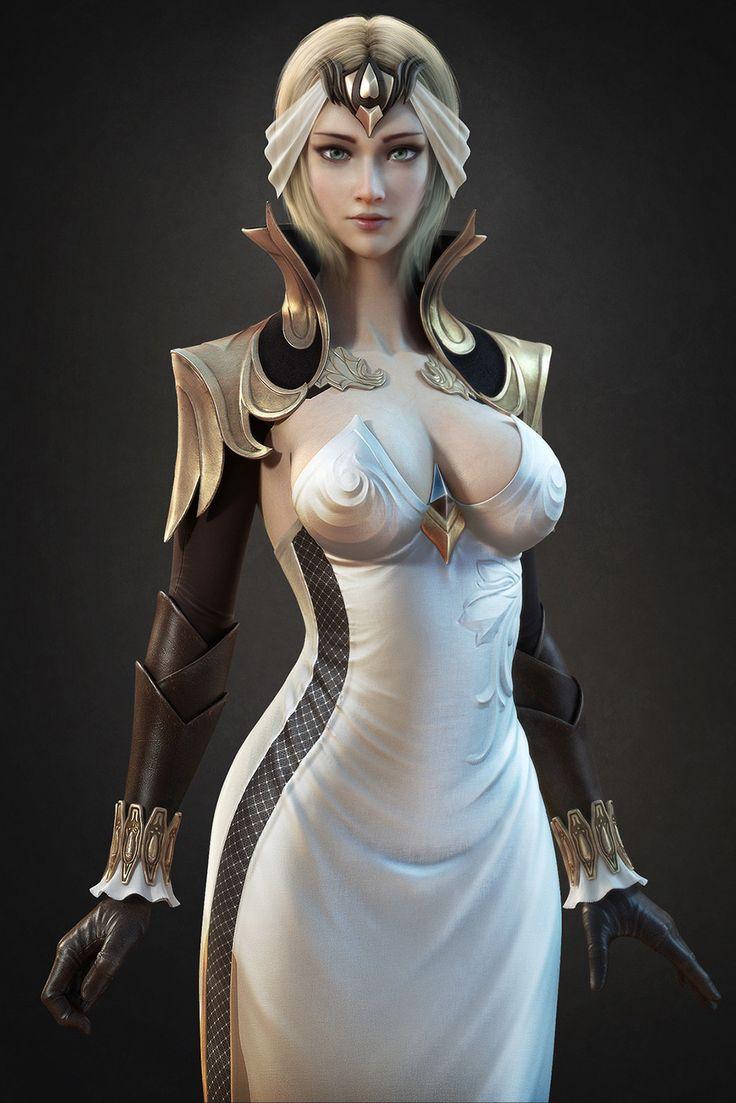 ArtStation - Game Character, Kai Fan