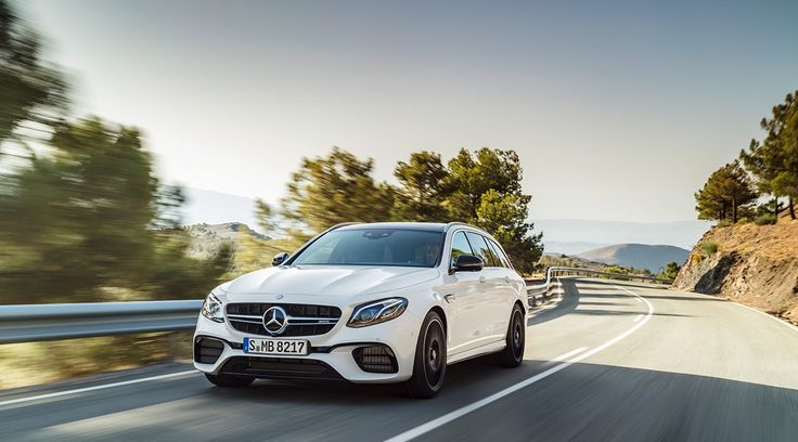 Mercedes-AMG E 63 S 4MATIC+ Estate (S 213): brand's hallmark Driving Performance with high utility value and the intelligence of the E‑Class.