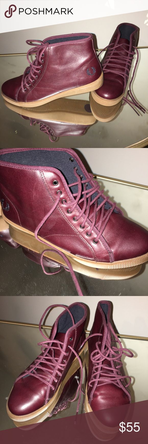 Fred Perry Worn once.. Fred Perry Shoes Ankle Boots & Booties