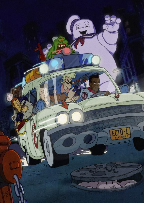 The Real Ghostbusters #16 comic cover by T-RexJones.deviantart.com on @deviantART