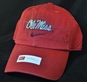 ... Ole Miss Rebels Womens Bling Hat. Swarovski crystal rhinestones.  www.babywantsbling.com  Swarovski Nike ... b86ac8b7af93