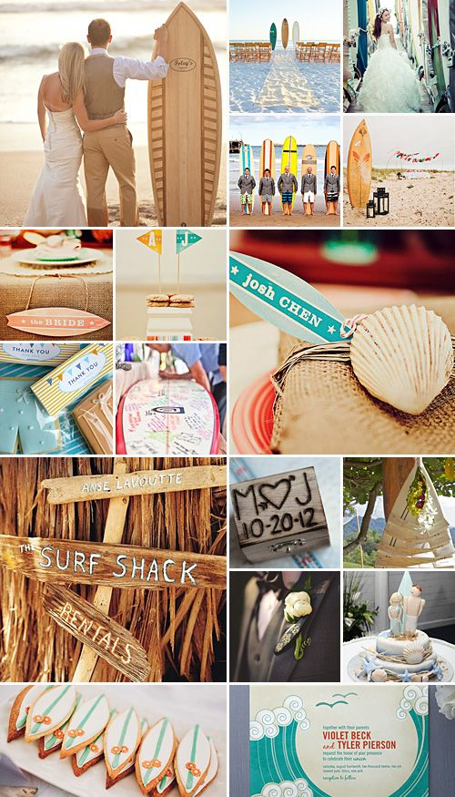 Surfer+Wedding+Theme