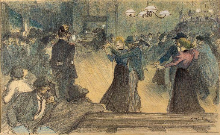 Ball in Paris's Suburb
