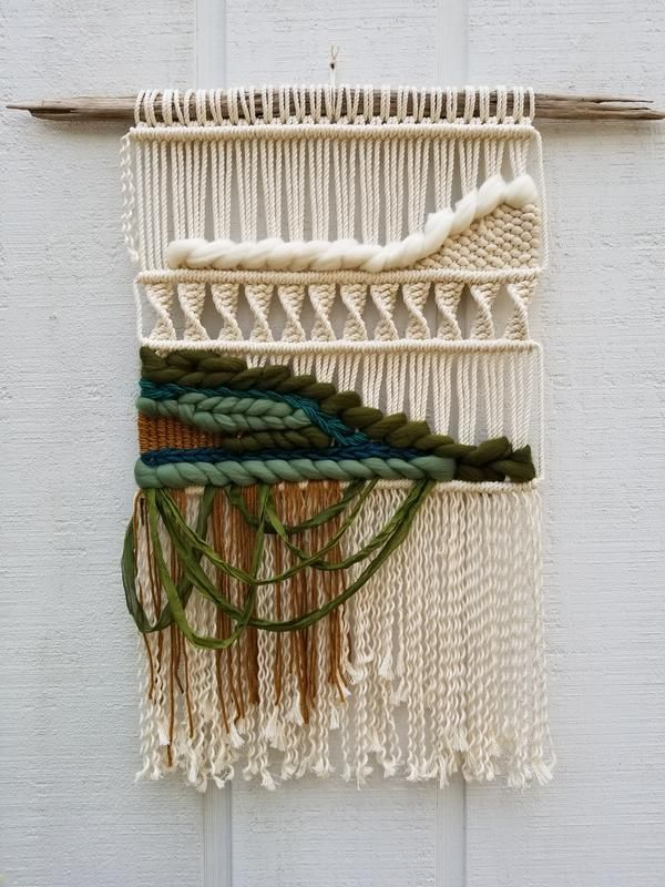 Emerald Macrame Wall Hanging 2041 best Macrame