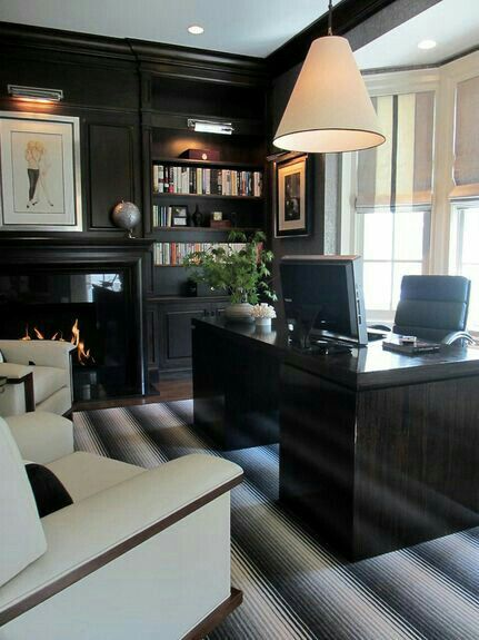 Wall Decor Mens Office : Best ideas about masculine office on