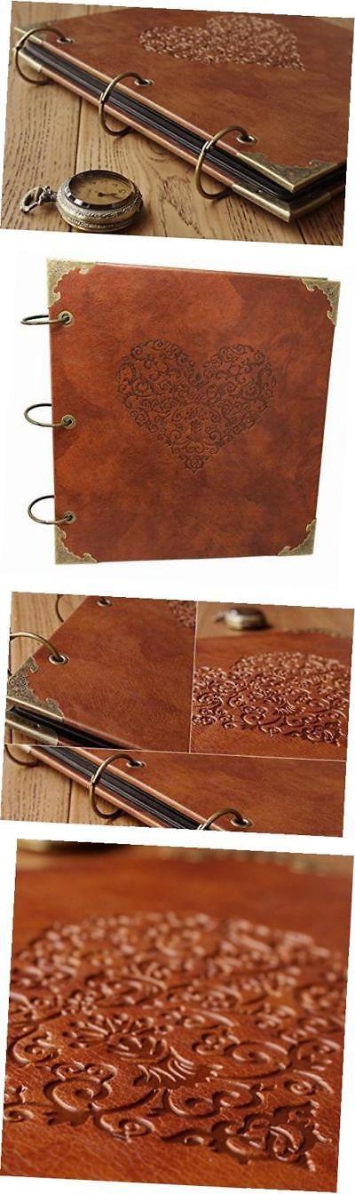 Photo Albums 102473: Retro Leather Photo Album Special Scrapbook Diy Anniversary Scrapbook -> BUY IT NOW ONLY: $41.27 on eBay!