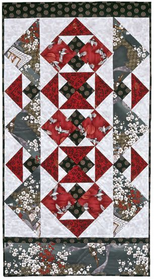 """Asian Influences"" by Terry Martin, in: 101 Fabulous Small Quilts by Martingale"