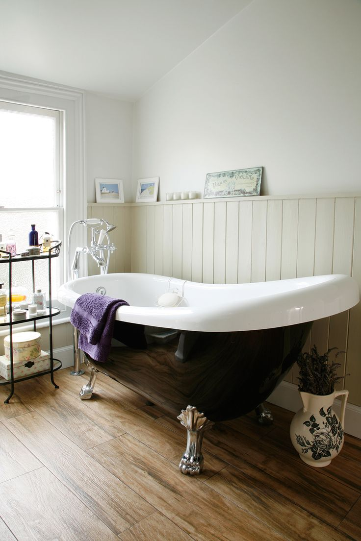 Roll Top Bath From Bath Empire, With Fixtures And Fittings From Victorian  Plumbing · French BathroomVictorian ... Part 88