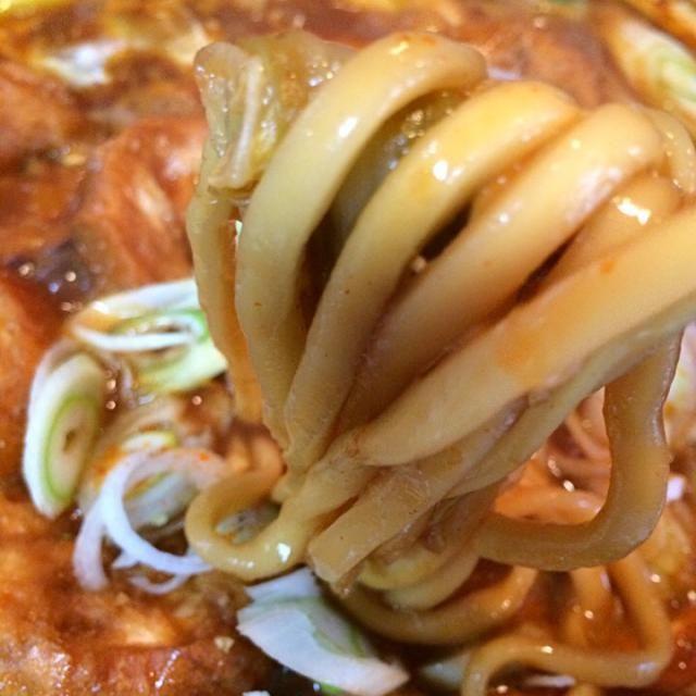 鶏団子鍋は味噌煮込みうどんのたれを使って味噌味にしたので〆は名古屋の味噌煮込みうどんにしました。  これがまた美味しい〜〜  このこってりがたまらないー  てっちゃんご馳走様でした!! - 312件のもぐもぐ - 味噌煮込みうどん(味噌鍋の〆に by Ory