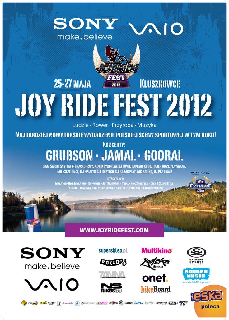 Sony VAIO Joy Ride Fest. Więcej informacji o całym zamieszaniu na stronie www.joyridefest.com