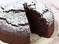Torta all'acqua al cioccolato ricetta