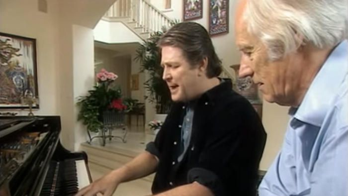 Brian Wilson and George Martin