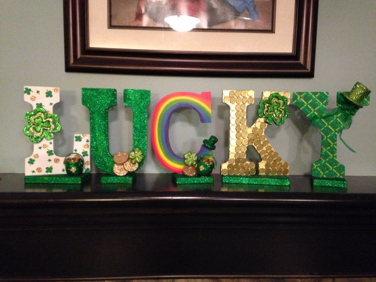 Lucky mantle letters