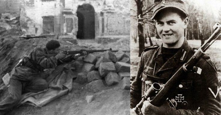 Josef Allerberger and Matthäus Hetzenauer: Two Snipers with Over 600 Kills Between Them
