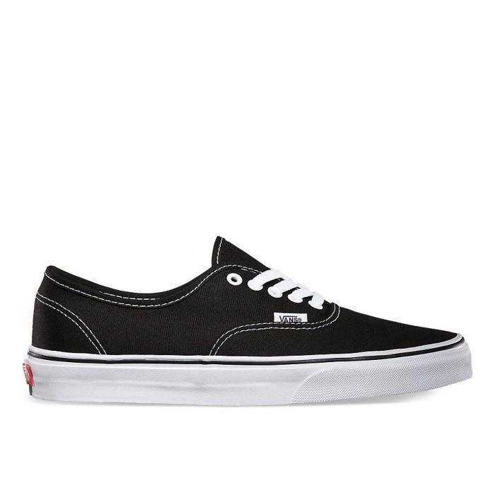 Shop Vans Authentic Black/White | Vans