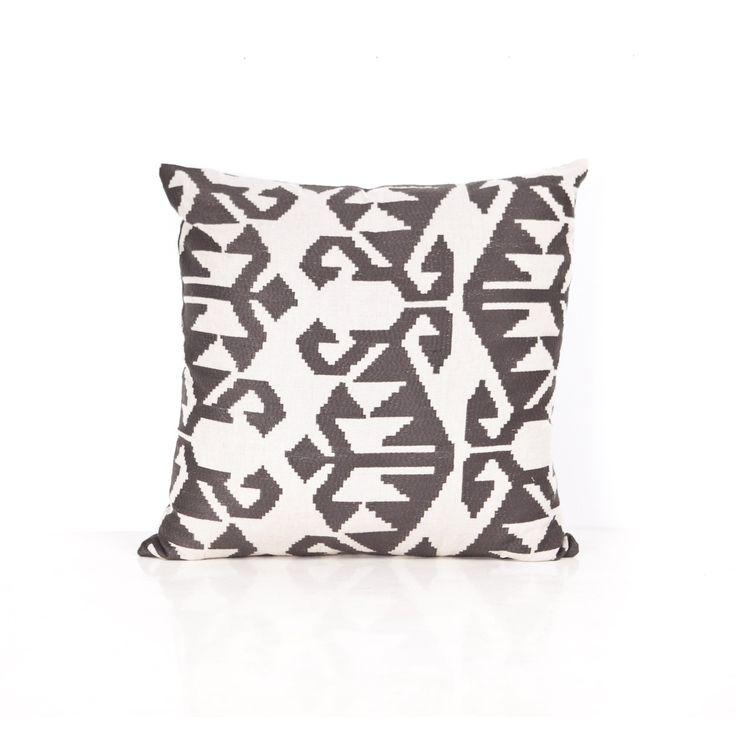 Santa Fe Gunmetal cushion - 60cm x 60cm from Ambience Store