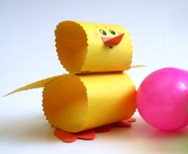 This is the perfect Easter craft for the littlest crafters! Paper crafts