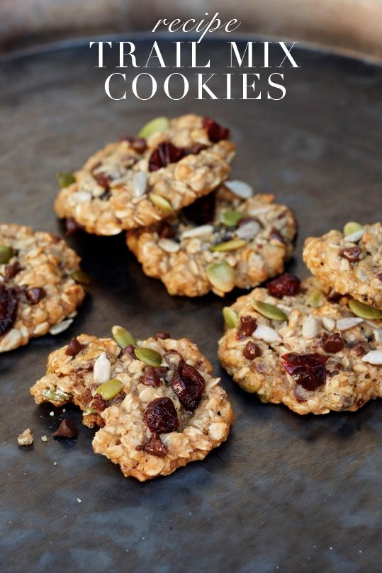 Miraval Resort + Spa Trail Mix Cookie Recipe (can't wait to make these!)