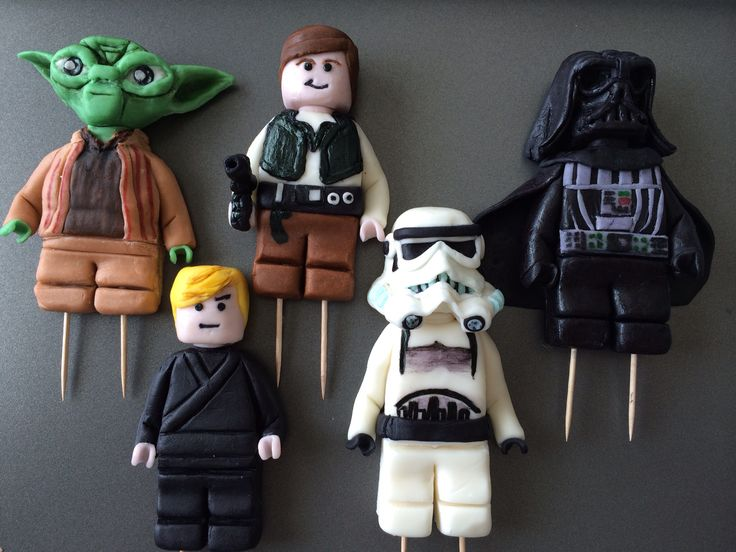 Star Wars Cake Figures Uk