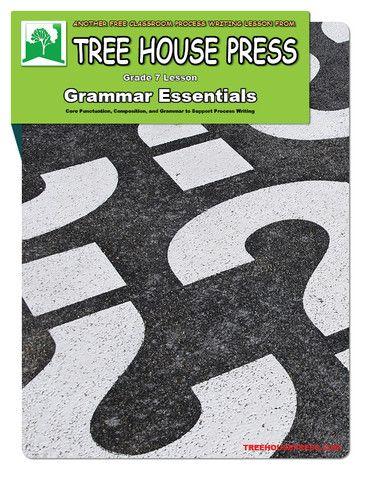 Free grade 7 essential grammar lessons.