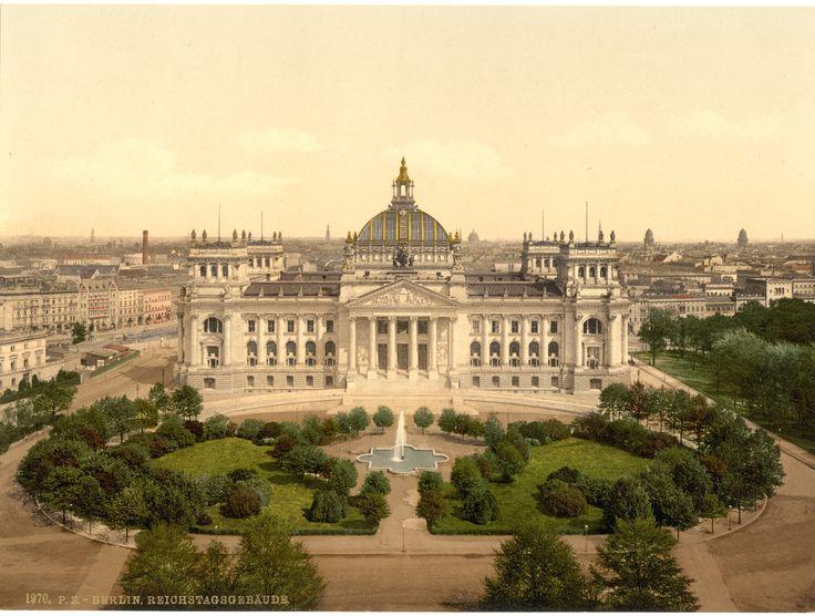 Und so das Reichstagsgebäude: