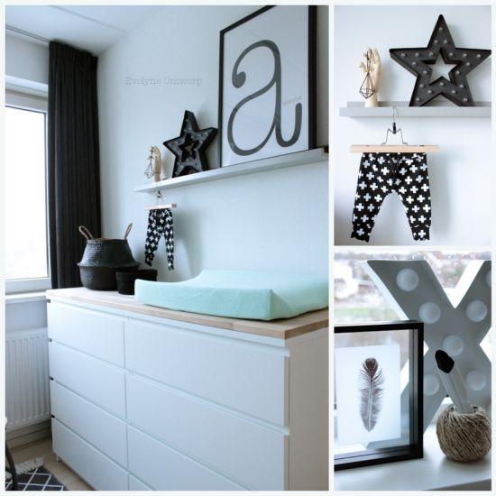 Meer dan 1000 idee n over zwart wit slaapkamers op pinterest witte slaapkamers witte - Zwart meisjes kamer en witte ...